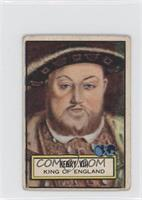 Henry VIII [Good to VG‑EX]