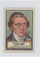 Patrick Henry [Good to VG‑EX]