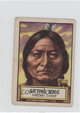 1952 Topps Look 'n See - [Base] #58 - Sitting Bull [Good to VG‑EX]