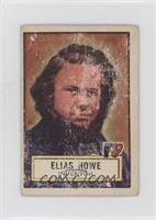Elias Howe [GoodtoVG‑EX]