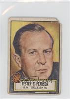 Lester B. Pearson [Poor]