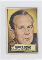 Lester B. Pearson [GoodtoVG‑EX]