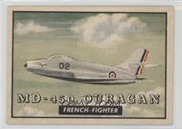 MD-450 Ouragan French Fighter