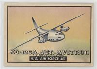 XC-123A Jet Avitruc U.S. Air Force Jet