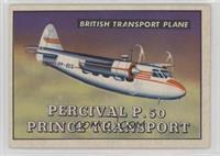 Percival P-50 Prince Transport