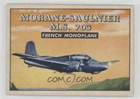 Morane-Saulnier M.S. 703 French Monoplane