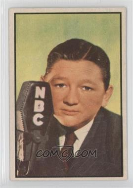 1953 Bowman Television and Radio Stars of the NBC Vertical Back - [Base] #81 - Walter Tetley