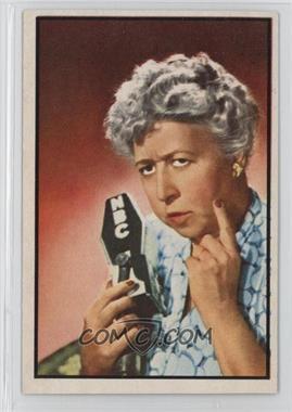 1953 Bowman Television and Radio Stars of the NBC Vertical Back - [Base] #87 - Verna Felton