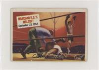 Marciano K.O.'s Walcott [GoodtoVG‑EX]