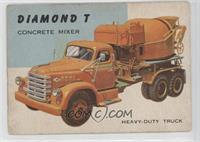 Diamond T Concrete Mixer [GoodtoVG‑EX]