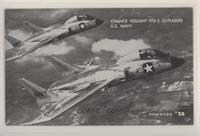 Chance Vought F7U-3 Cutlasses U.S. Navy