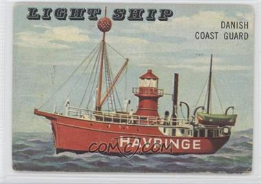 1955 Topps Rails and Sails - [Base] #167 - Light Ship