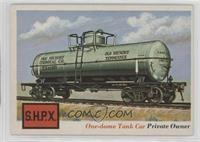 One-dome Tank Car