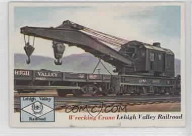 1955 Topps Rails and Sails - [Base] #73 - Wrecking Crane