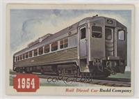 Rail Diesel Car