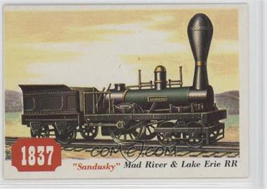 "1955 Topps Rails and Sails - [Base] #76 - ""Sandusky"" Mad River & Lake Erie Rr"