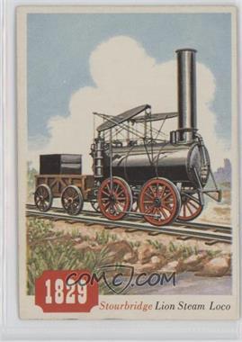 1955 Topps Rails and Sails - [Base] #79 - Stourbridge