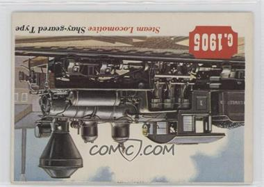 1955 Topps Rails and Sails - [Base] #80 - Steam Locomotive