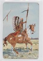 Cheyenne War Party Leader