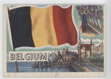 1956 Topps Flags of the World - [Base] #75 - Belgium