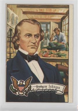 1956 Topps U.S. Presidents - [Base] #20 - Andrew Johnson [Altered]