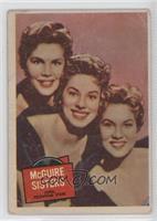 McGuire Sisters [GoodtoVG‑EX]