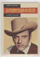Gunsmoke - James Arness as Matt Dillon [GoodtoVG‑EX]