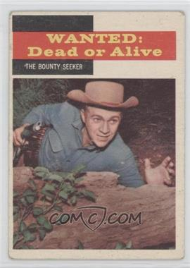1958 Topps TV Westerns - [Base] #23 - Wanted: Dead or Alive - The Bounty Seeker