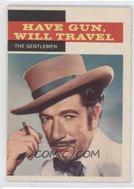 1958 Topps TV Westerns - [Base] #31 - Have Gun, Will Travel - The Gentlemen