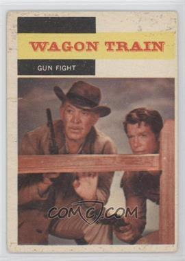 1958 Topps TV Westerns - [Base] #50 - Wagon Train - Gun Fight