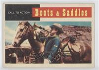 Boots & Saddles - Call to Action