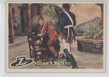 1958 Topps Walt Disney's Zorro! - [Base] #23 - Diego's Defeat