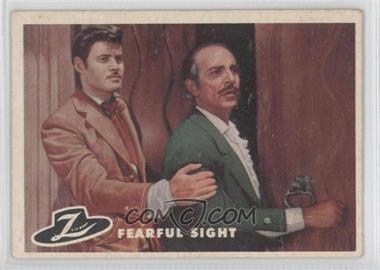 1958 Topps Walt Disney's Zorro! - [Base] #52 - Fearful Sight [GoodtoVG‑EX]
