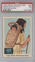Indian Mother with Papoose Board [PSA7]