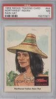 Northwest Indian Rain Hat [PSA7]