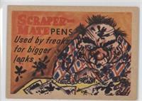 Scraper-Mate Pens