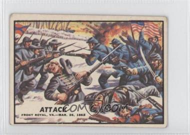 1962 A&BC Civil War News - [Base] #11 - Attack [GoodtoVG‑EX]