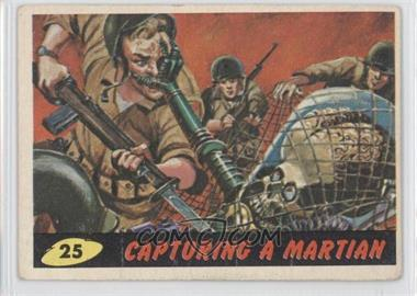 1962 Topps Bubbles Mars Attacks! - [Base] #25 - Capturing a Martian [Good to VG‑EX]