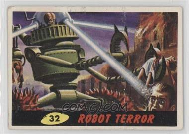1962 Topps Bubbles Mars Attacks! - [Base] #32 - Robot Terror [GoodtoVG‑EX]