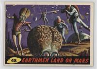Earthmen Land On Mars