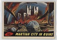 Martian City in Ruins