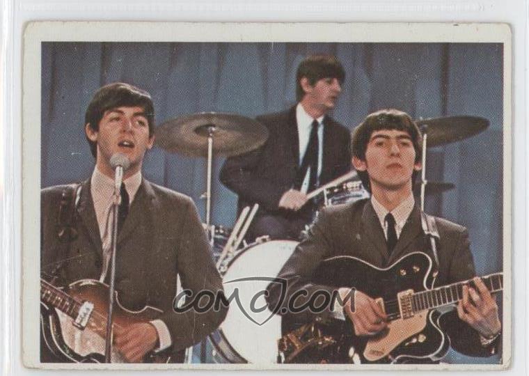 Zoom Report Error 1964 O Pee Chee Beatles Color