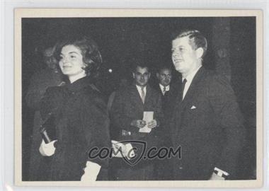 1964 Topps The Story of John F. Kennedy - [Base] #43 - John F. Kennedy, Jackie Kennedy