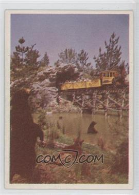 1965 Donruss Disneyland - [Base] - Blue Back #29 - Western Mine Train...