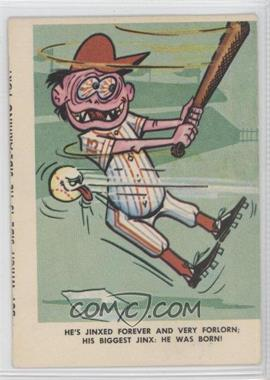 1965 Fleer Weird-ohs Baseball - [Base] #22 - Joey Jinx [Good to VG‑EX]