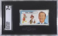 Walt Disney (Donald Duck, Pinocchio in Background) [SGC 7 NM]