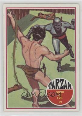 1966 Philadelphia Tarzan - [Base] #19 - Good vs. Evil