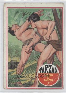 1966 Philadelphia Tarzan - [Base] #4 - Tarzan vs. Tarzan