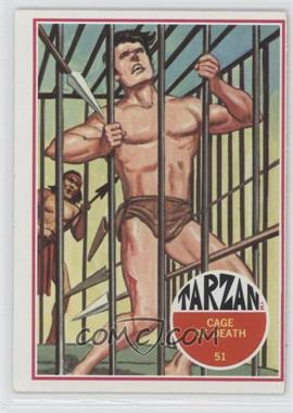 1966 Philadelphia Tarzan - [Base] #51 - Cage of Death