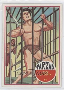 1966 Philadelphia Tarzan - [Base] #51 - Cage of Death